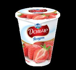 Йогурт 3,2% полуниця Дольче