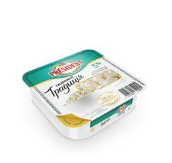 """Сир кисломолочний  5% Президент """"Творожна традиція"""""""