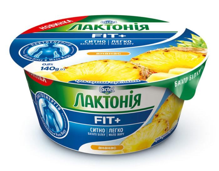 Крем сирковий Ананас н/ж Лактонія