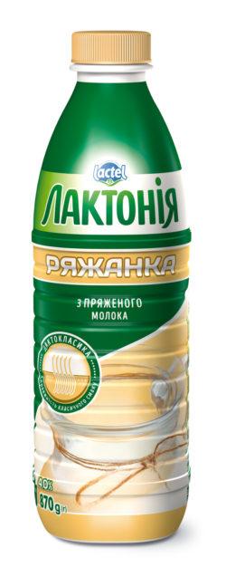 """Ряжанка 4% """"Лактонія"""""""