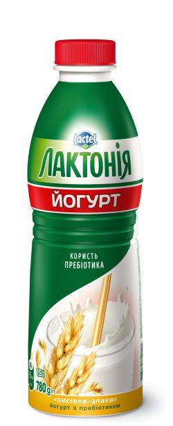 """Йогурт з наповнювачем Висівки-Злаки з лактулозою 1,5%, """"Лактонія"""""""