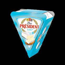 Сир м'який Брі легкий 28% Президент