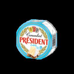 Сир м'який Камамбер легкий 28% Президент