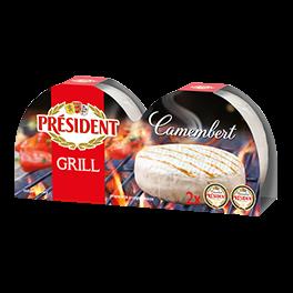 Сир м'який Камамбер гриль 60% Президент