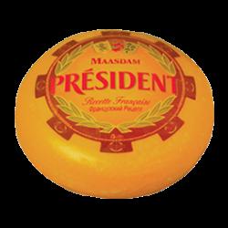 Сир твердий Мааздам 48% Президент