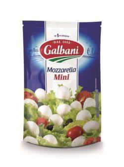 Сир свіжий Моцарела Міні 45% Гальбані