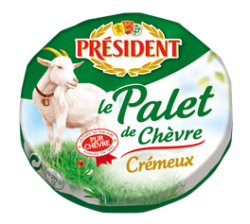 Сир з козиного молока Пале Шевр 45% Президент
