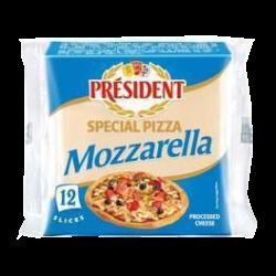 Сир плавлений з Моцарелою для піци 40% Президент