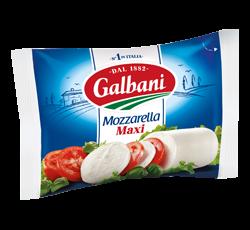 Сир свіжий Моцарела Максі 45% Гальбані