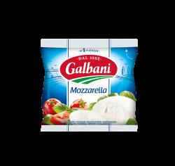 Сир свіжий Моцарела 45% Гальбані