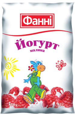 Drinkable yoghurt 1% Raspberry Fanni (0,870 kg)