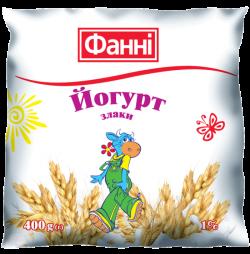 Drinkable yoghurt 1% Cereals Fanni (0,400 kg)