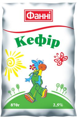 Kefir 2,5% Fanni (0,870 kg)