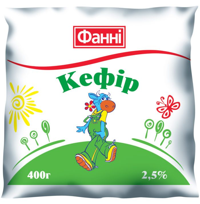 Kefir 2,5% Fanni (0,400 kg)