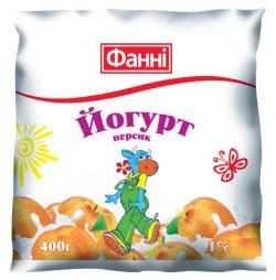 Drinkable yoghurt 1% Peach Fanni (0,400 kg)