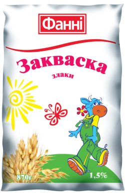 Zakvaska 1,5% with Cereals Fanni (0,870 kg)