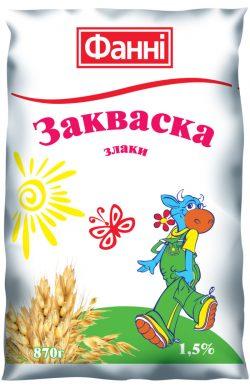 Zakvaska 1,5% with Cereals Fanni (0,870 kg)