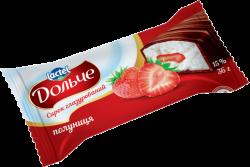 Glazed curd 15% Strawberry Dolce (0,036 kg)