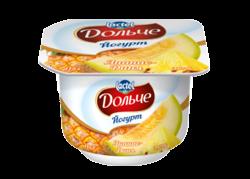 Yoghurt 3,2% Pineapple-Melon Dolce (cup 0,115 kg)