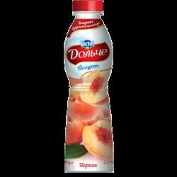 Drinkable yoghurt 2,5% Peach Dolce (bottle 0,500 kg)