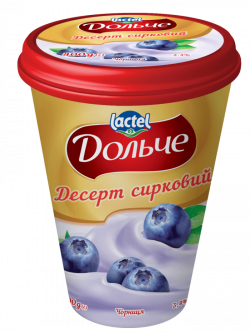 Dessert 3,4% Blueberry Dolce (cup 0,400 kg)