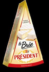 Soft cheese Brie 60% Président