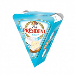 Soft cheese Brie light 28% Président