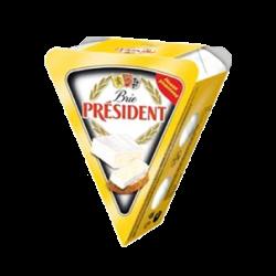 Soft cheese Brie Walnuts 60% Président