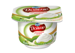 Yoghurt 3,2% double-layer Kiwi Dolce (cup 0,115 kg)