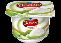 Yoghurt 3,2% double-layer Kiwi Dolce (cup 0,115 kg)