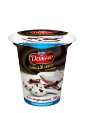 """Dessert 4,5% """"Italian collection"""" coconut with straciatella Dolce (cup 0,120 kg)"""