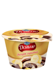 Dessert with chocolate 3,4% Banana Dolce (cup 0,200 kg)
