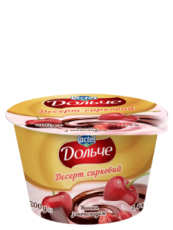 Dessert with chocolate 3,4% Cherry Dolce (cup 0,200 kg)