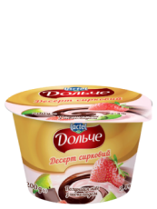 Dessert with chocolate 3,4% Strawberry Dolce (cup 0,200 kg)