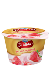 Dessert 3,4% Strawberry Dolce (cup 0,200 kg)