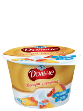 Dessert low-fat 0,2% Peach Dolce (cup 0,200 kg)