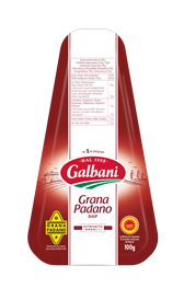 Hard cheese Grana Padano 32% Galbani