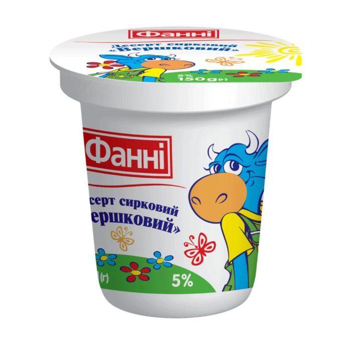 Dessert 5% Creamy Fanni (cup 0,150 kg)