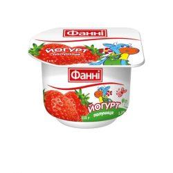 Yoghurt 1,5% Strawberry Fanni (cup 0,115 kg)
