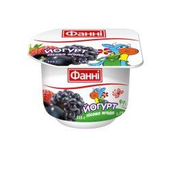 Yoghurt 1,5% Wild Berry Fanni (cup 0,115 kg)
