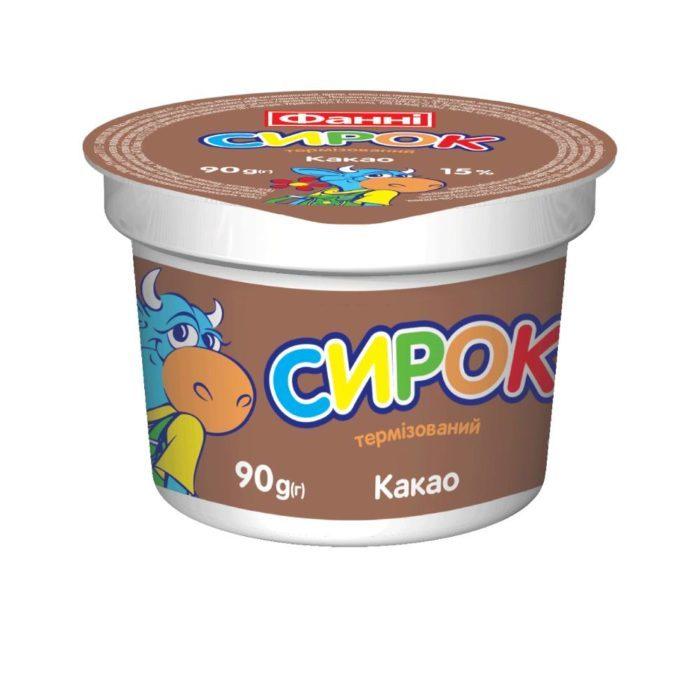 Syrok 15% Cocoa Fanni (cup 0,090 kg)