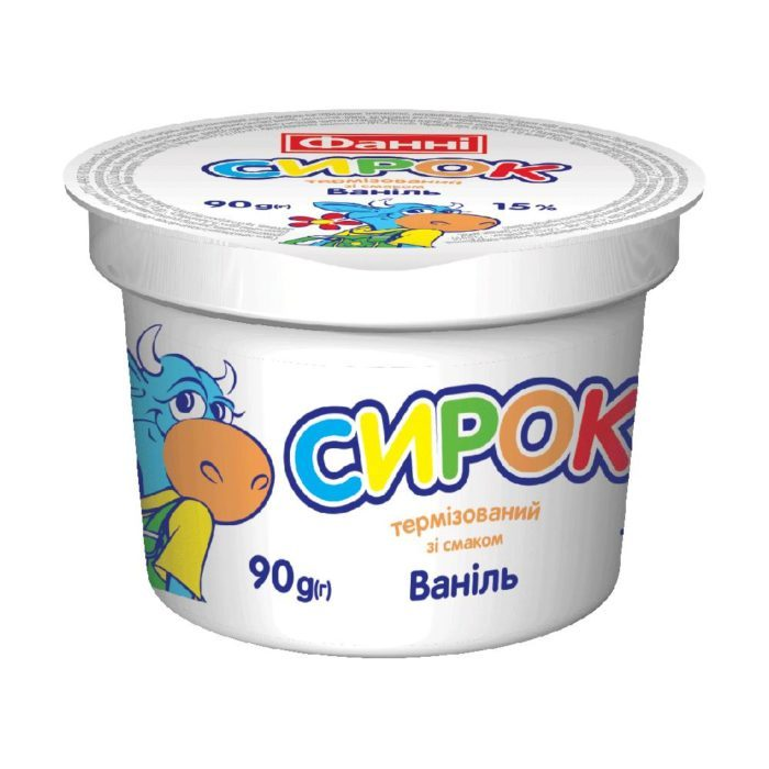 Syrok 15% Vanilla Fanni (cup 0,090 kg)