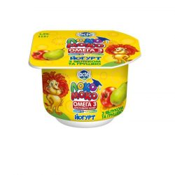 Yoghurt 1,5% Apple-Pear, with Calcium, Omega3 and Vitamin D3 Loko Moko (cup 0,115 kg)