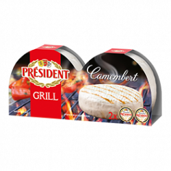Soft cheese Camembert Grill 60% Président