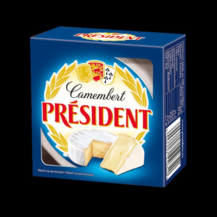 Soft cheese Camembert  60% Président