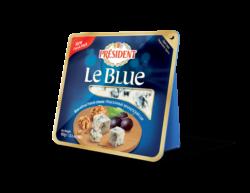Blue-veined cheese Le Blue 50% Président