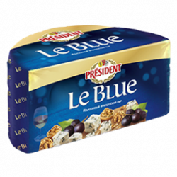 Blue-veined cheese Le Blue 50% Président