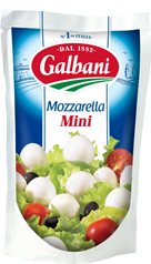 Fresh cheese Mozzarella Mini 38% Galbani