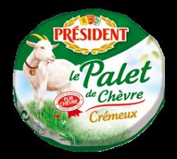 Goat's cheese Palet de Chevre 45% Président