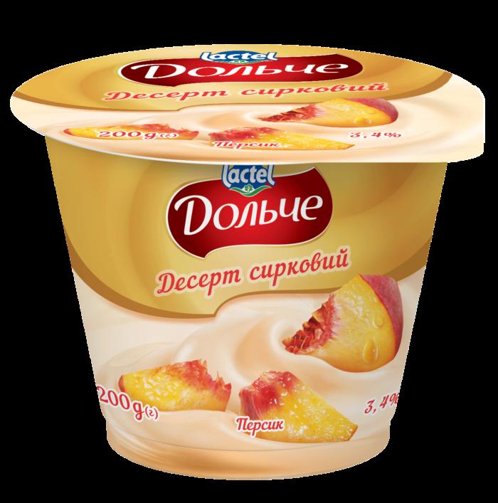 Dessert 3,4% Peach Dolce (cup 0,200 kg)